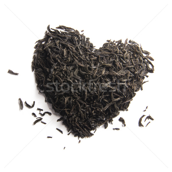 black tea heart Stock photo © butenkow