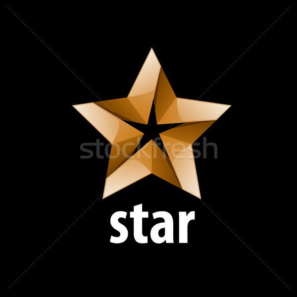 Vetor logotipo estrela abstrato assinar marca Foto stock © butenkow