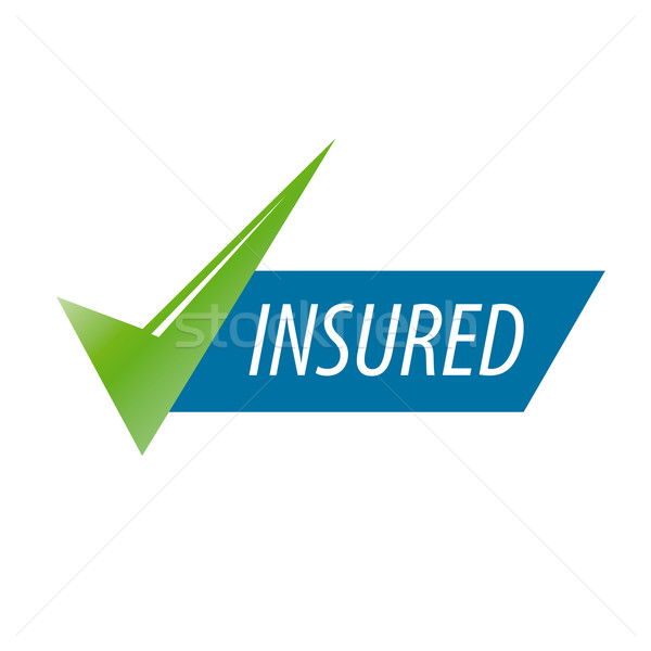 abstract vector icon for an insurance company Stock photo © butenkow