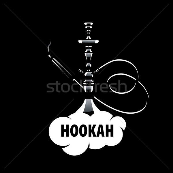 Vector logo hookah logo-ontwerp sjabloon icon Stockfoto © butenkow