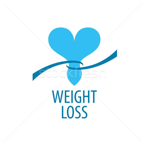 weight loss logo Stock photo © butenkow