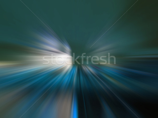 the speed of light on the road Stock photo © butenkow