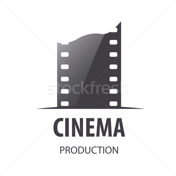 Stockfoto: Vector · logo · film · productie · business · teken