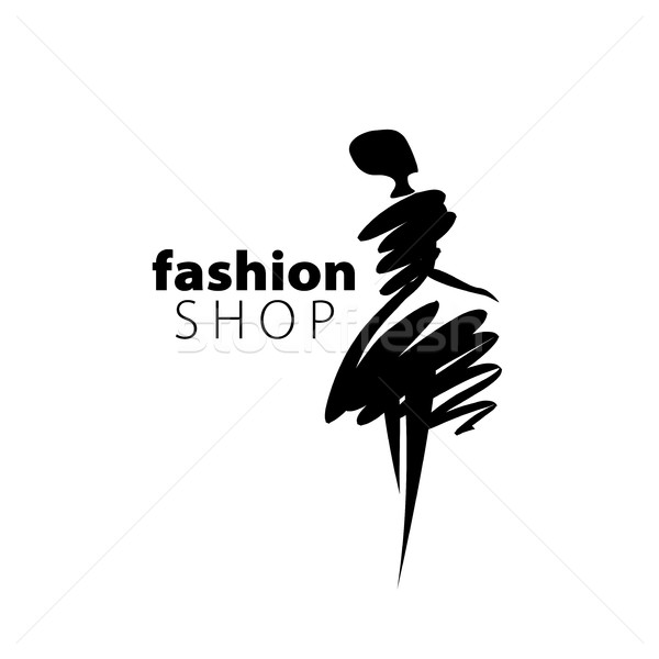 vector logo girls Stock photo © butenkow
