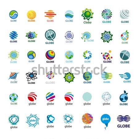 different logo balls Stock photo © butenkow