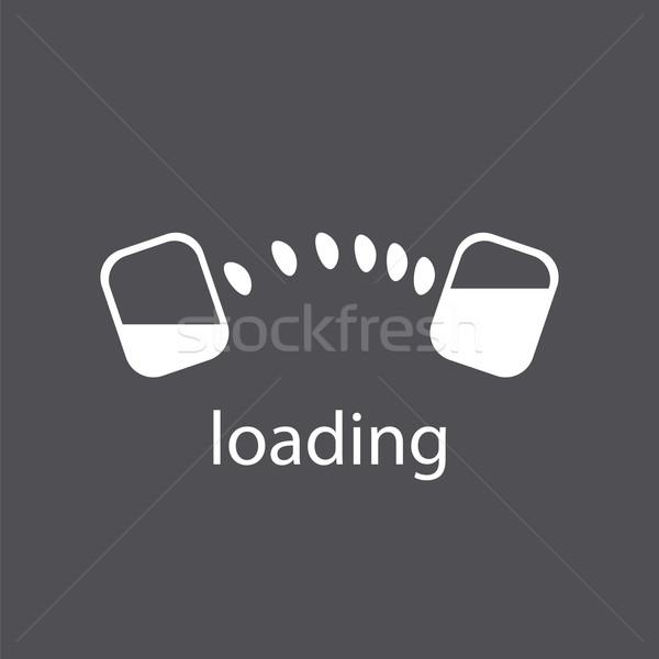 Abstract vector logo download files Stock photo © butenkow