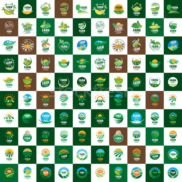 logo farm food Stock photo © butenkow