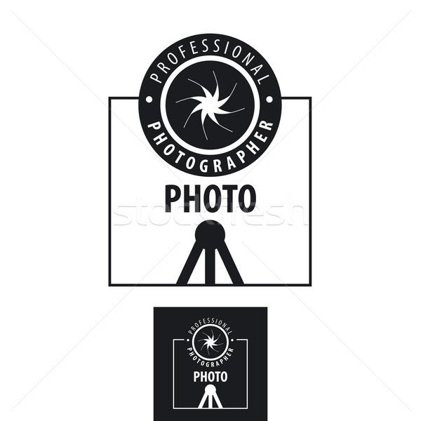 Vektör logo fotoğrafçı objektif bilgisayar Stok fotoğraf © butenkow