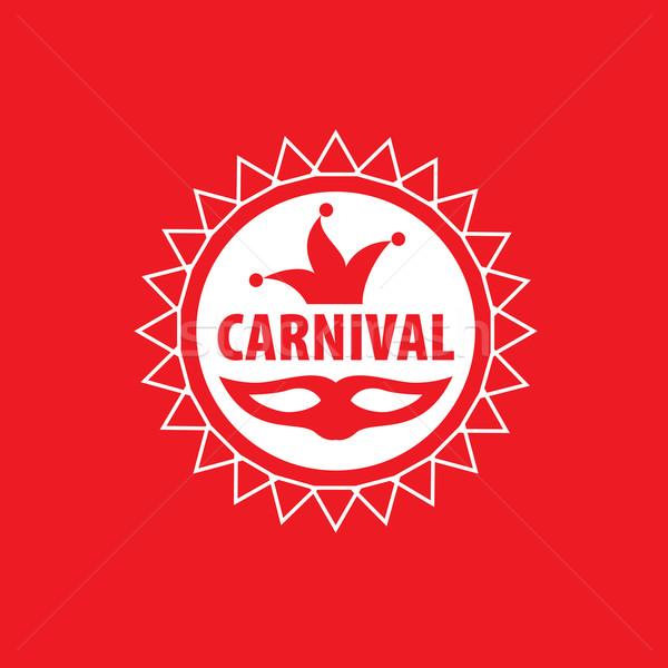Carnival vector logo Stock photo © butenkow