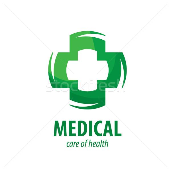 вектора логотип медицинской крест медицина аптека Сток-фото © butenkow