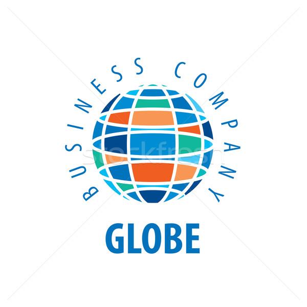ストックフォト: 地球 · ロゴ · テンプレート · 世界中 · にログイン · ベクトル