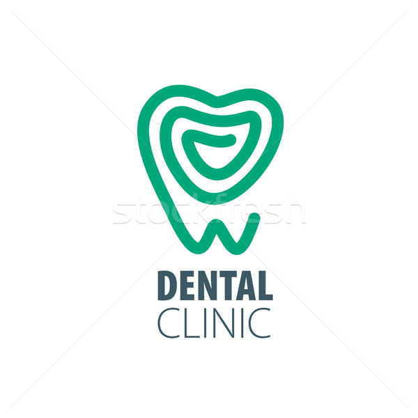 Stock photo: vector logo dentistry