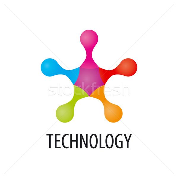 Foto stock: Tecnologia · logotipo · forma · ciência · bola · comunicação