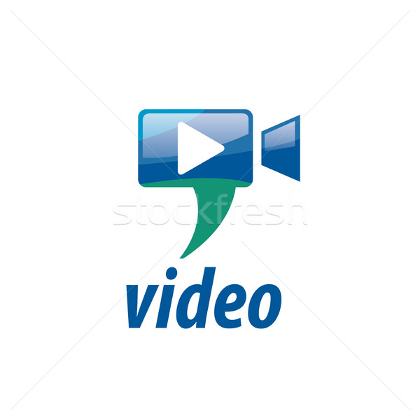vector logo Camcorder Stock photo © butenkow