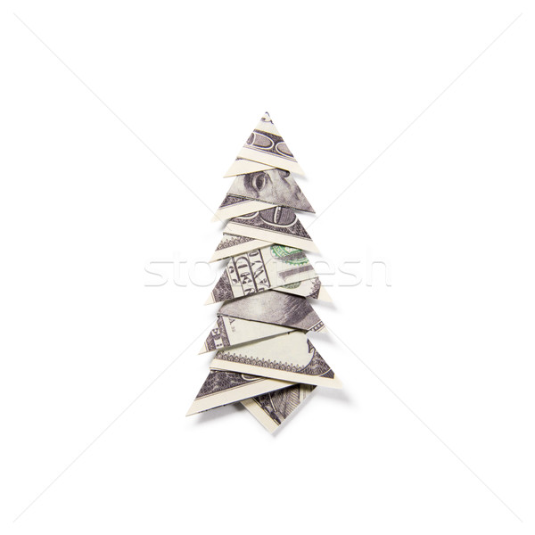 Very EASY Money Christmas TREE Origami Dollar Tutorial DIY - YouTube | 600x600