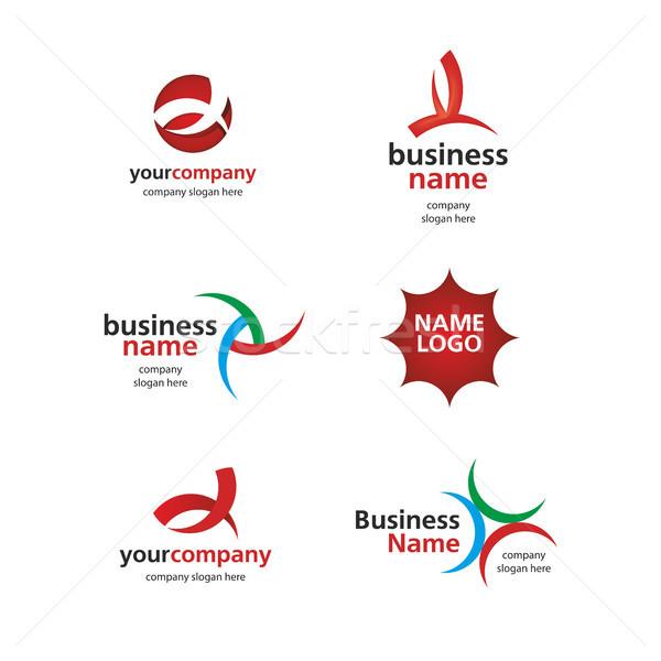 logo of the lines Stock photo © butenkow