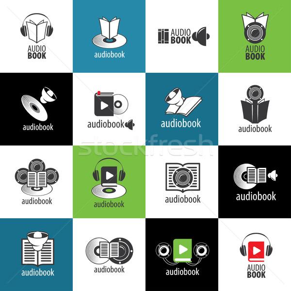 Vector logo sjabloon abstract patroon illustratie Stockfoto © butenkow