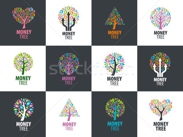 Stockfoto: Logo · logo-ontwerp · sjabloon · business · boom