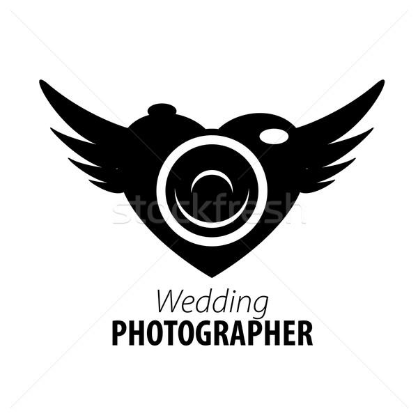 Foto stock: Vetor · logotipo · fotógrafo · modelo · estúdio · negócio