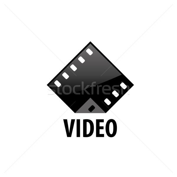 Vektör logo film logo tasarımı şablon filmler Stok fotoğraf © butenkow
