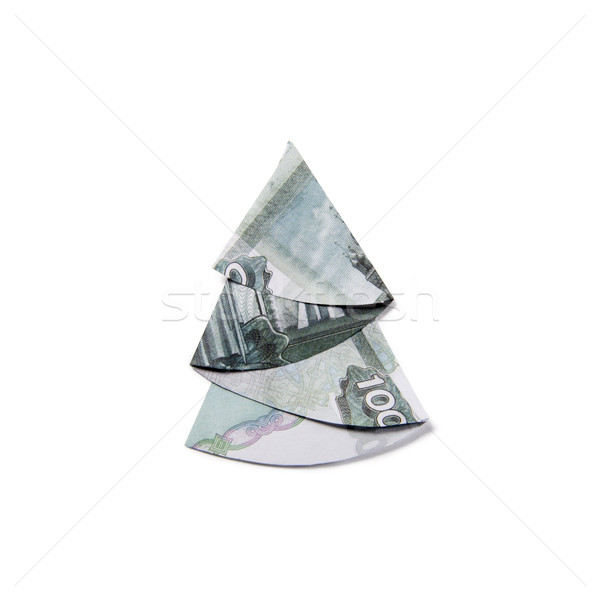origami Money Christmas Tree 012 | RoniJJ | Flickr | 600x600