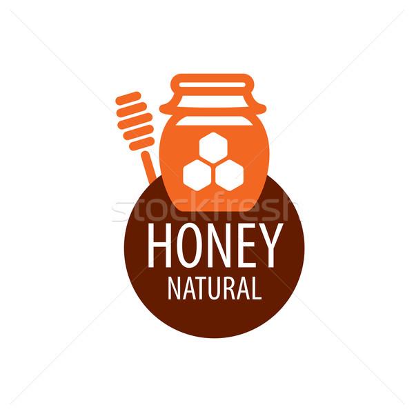 Vektör bal logo şablon gıda Stok fotoğraf © butenkow