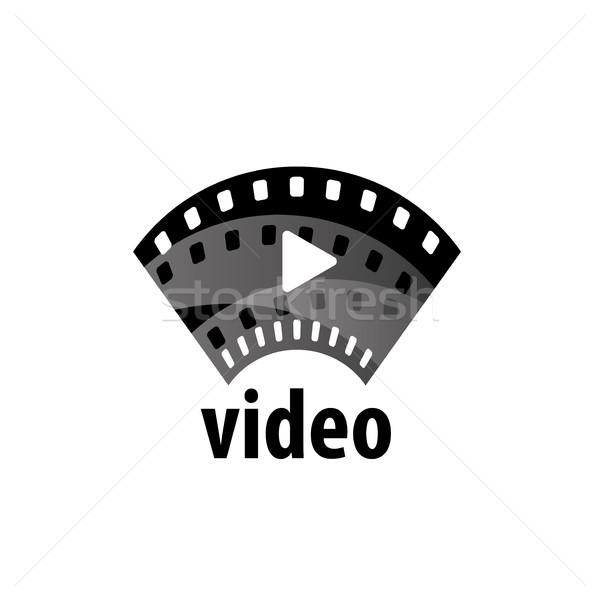 Vecteur logo film conception de logo modèle films Photo stock © butenkow