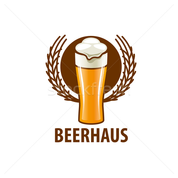 vector beer logo Stock photo © butenkow