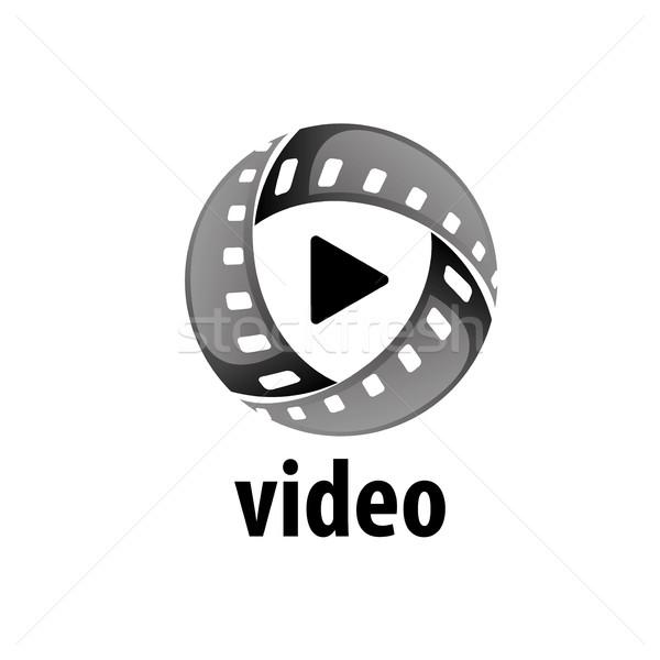 Stockfoto: Vector · logo · film · logo-ontwerp · sjabloon · films