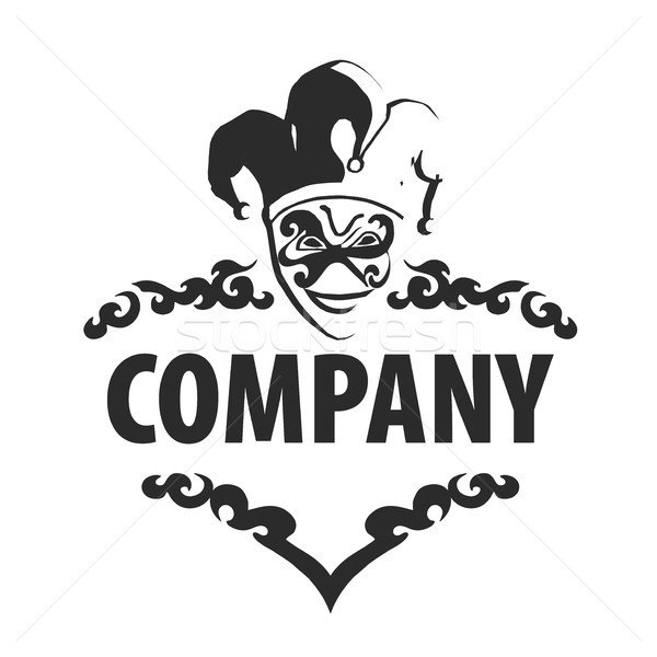 logo joker Stock photo © butenkow