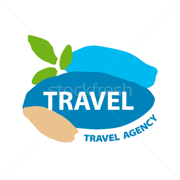 Abstract vector logo for recreation and travel Stock photo © butenkow
