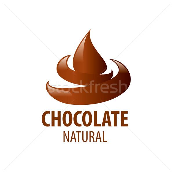 vector logo chocolate Stock photo © butenkow