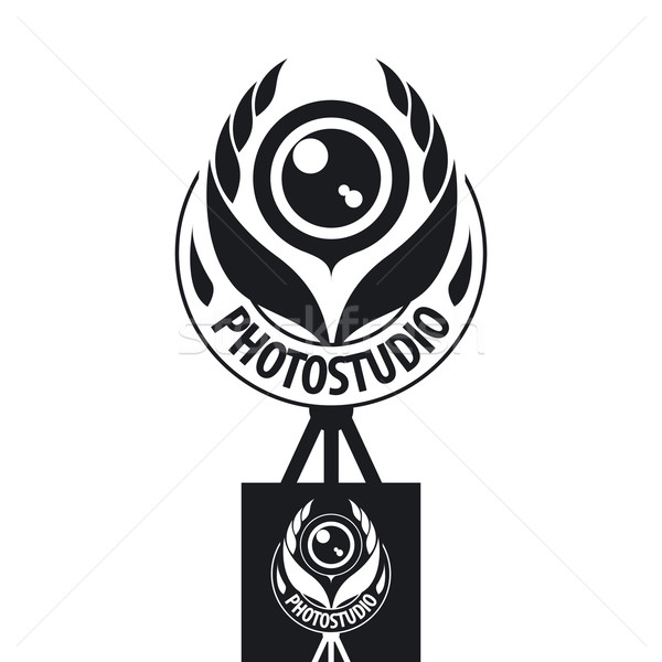 vector logo for the studio in the form of the coat of arms Stock photo © butenkow