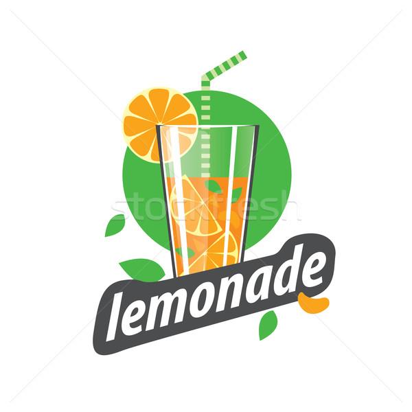 logo for lemonade Stock photo © butenkow