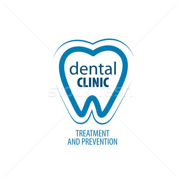 Stock photo: vector logo dentistry