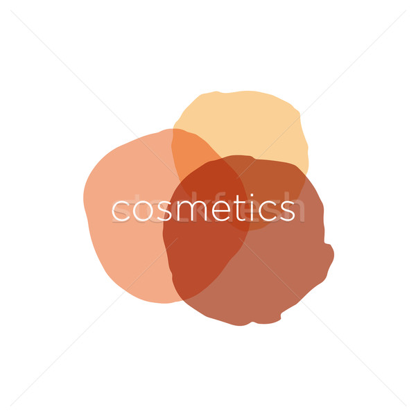 Abstract vector logo for cosmetics and beauty Stock photo © butenkow