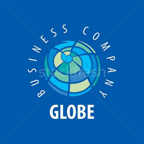 地球 ロゴ テンプレート 世界中 にログイン ベクトル ストックフォト © butenkow