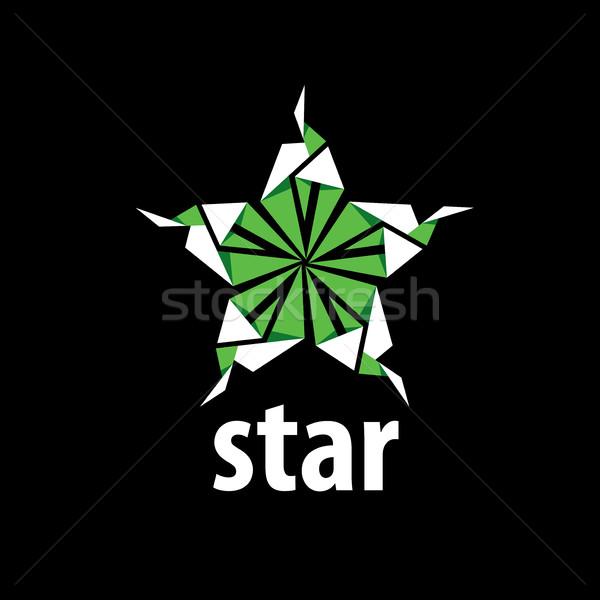 Stock photo: vector logo star