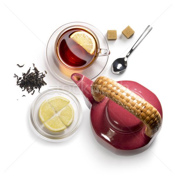 чай белый цветок здоровья Сток-фото © butenkow
