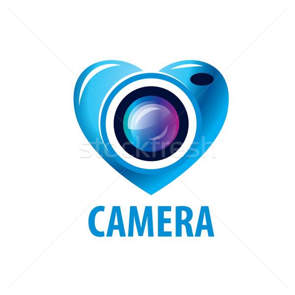 Vetor logotipo fotógrafo modelo estúdio negócio Foto stock © butenkow