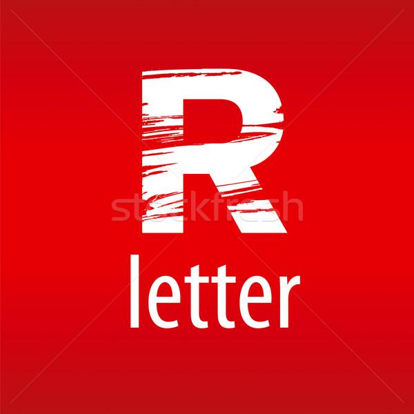 Résumé vecteur logo lettre r forme imprimer Photo stock © butenkow