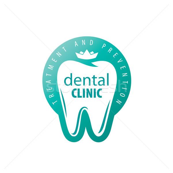 ベクトル ロゴ 歯科 治療 予防 保護 ストックフォト © butenkow