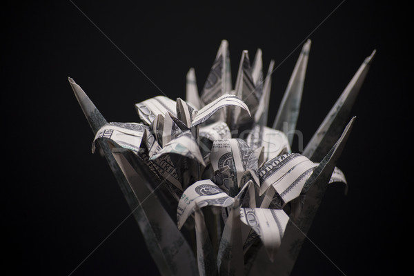 flowers origami banknotes Stock photo © butenkow