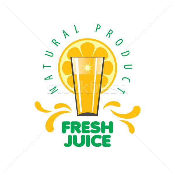 logo of fresh juice vector illustration 169 Алек�ей Б��енков