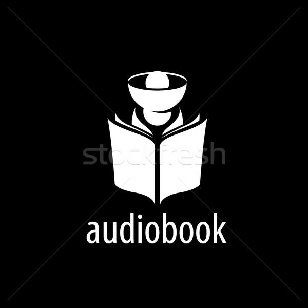 Audiobook. Vector logo template Stock photo © butenkow
