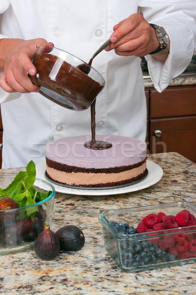 Mousse Cake Stock photo © BVDC
