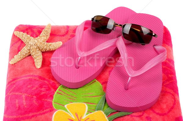 Beach Items Stock photo © BVDC