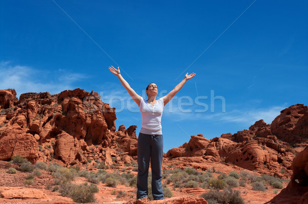 Stock photo: Enjoying Life Again