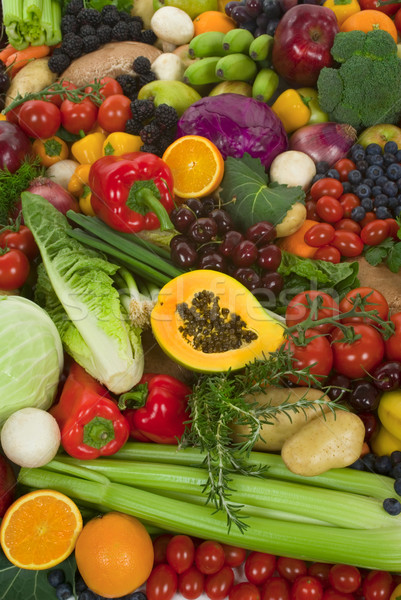 Vegetables and Fruits Stock photo © BVDC