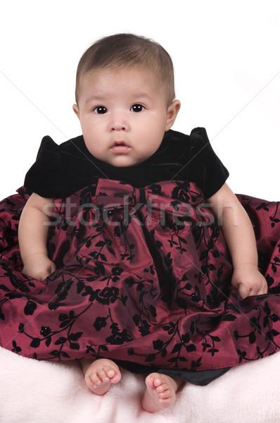 Baby 3 mesi bella ispanico bambino Foto d'archivio © BVDC